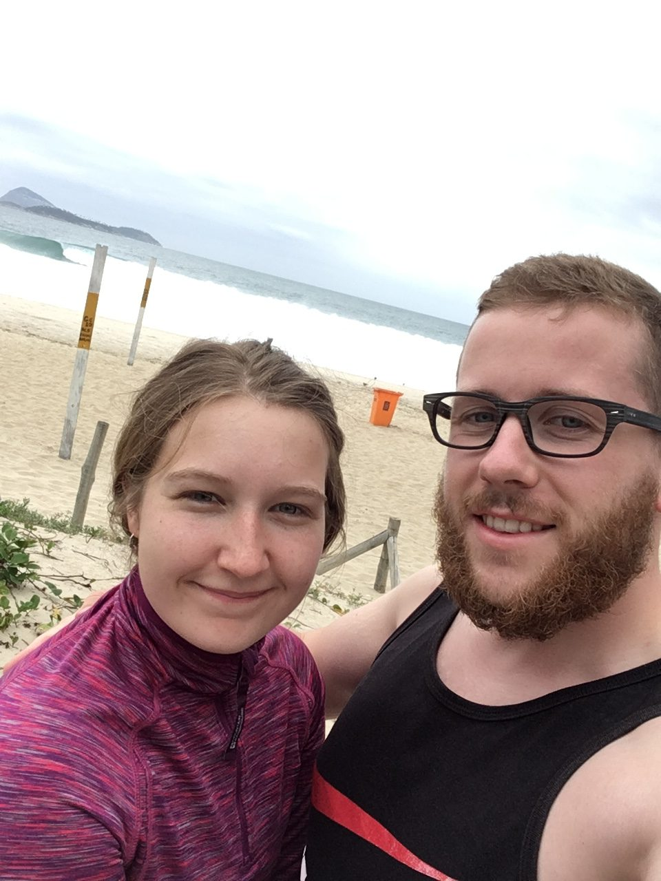 Alis and Alex - Ipanema Beach
