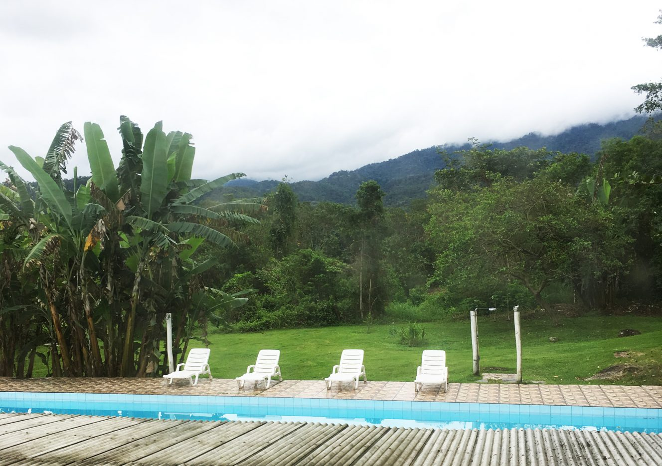 View from Paraty Hostel
