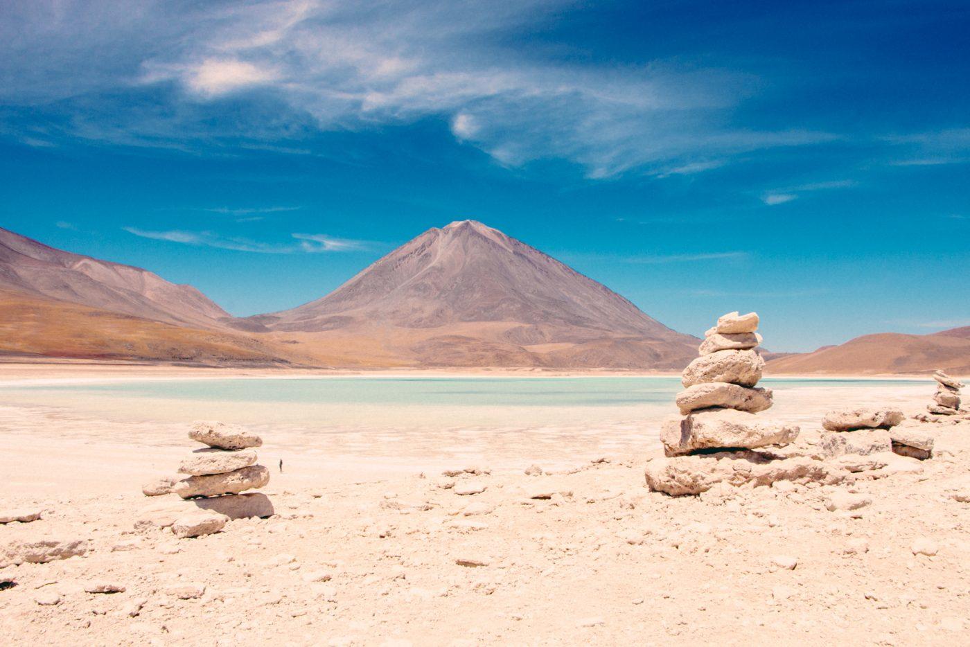 Green Lagoon - Inka rock formation