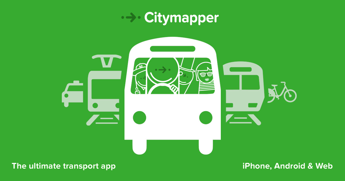 citymapper-travelling-app