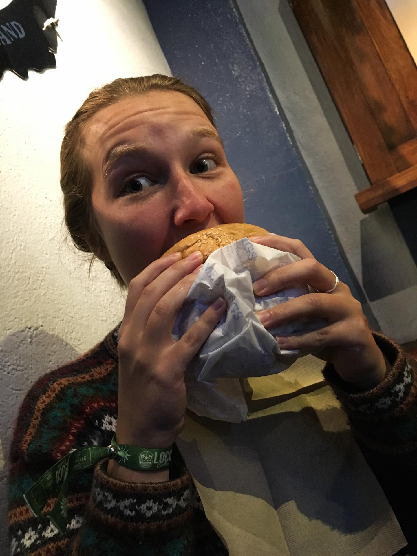 Alis Birthday Ferg Burger
