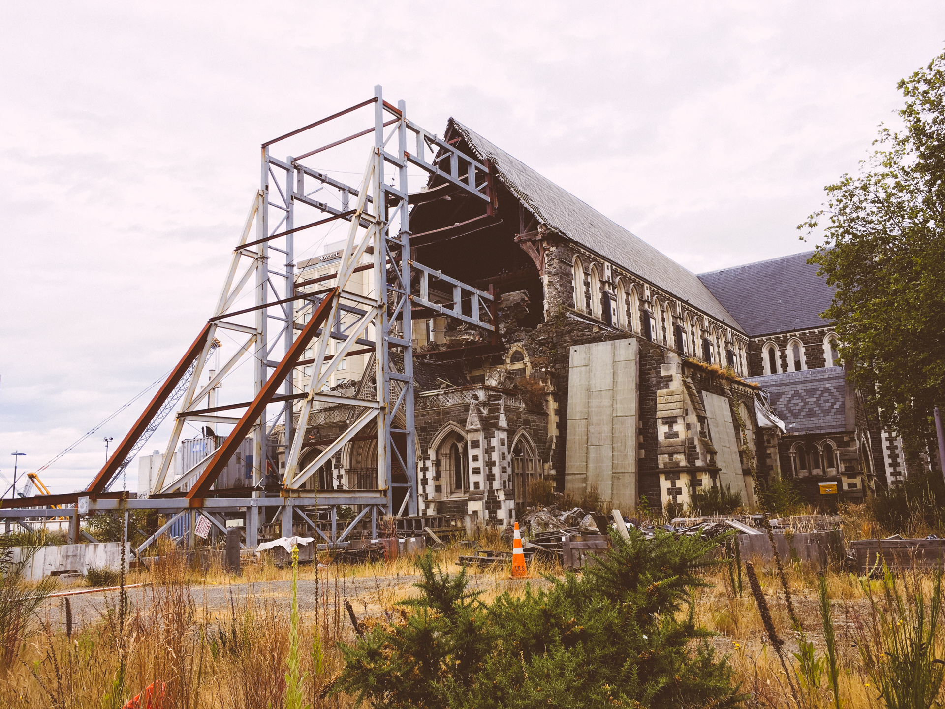 Earthquake Damaged Church - Christchurch