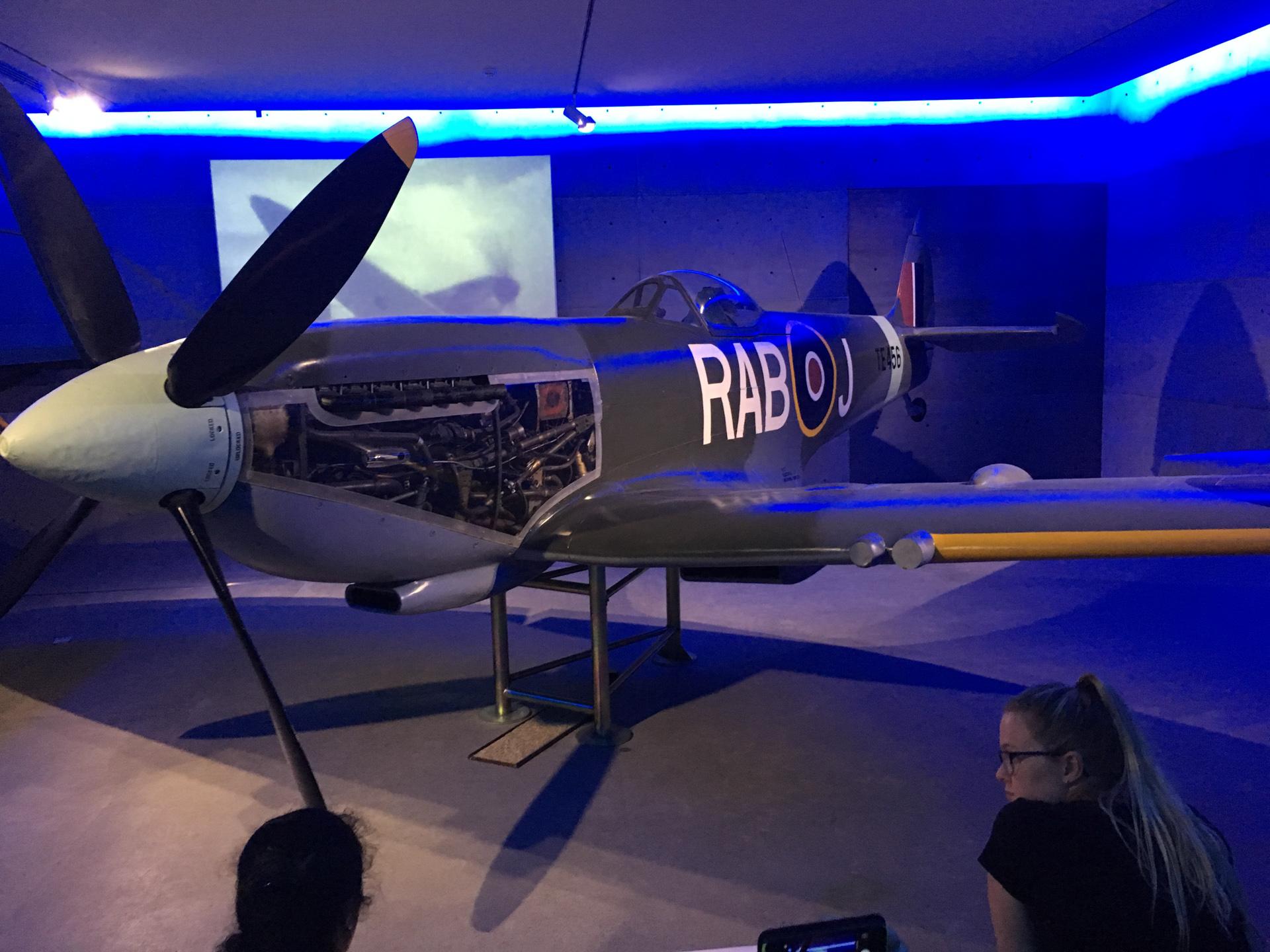 Spitfire in Auckland War Memorial Museum