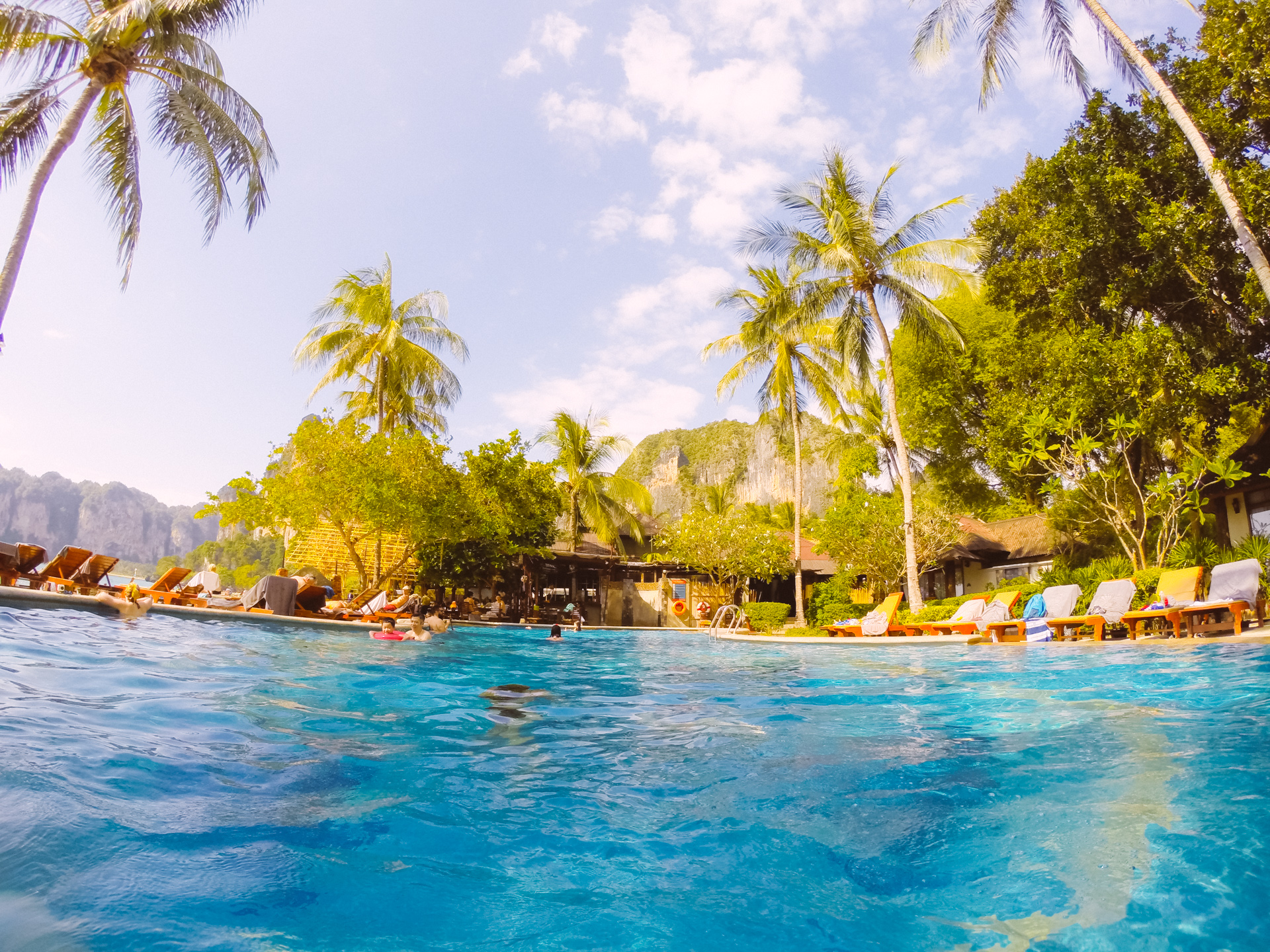 Railay Beach Hotel Pool