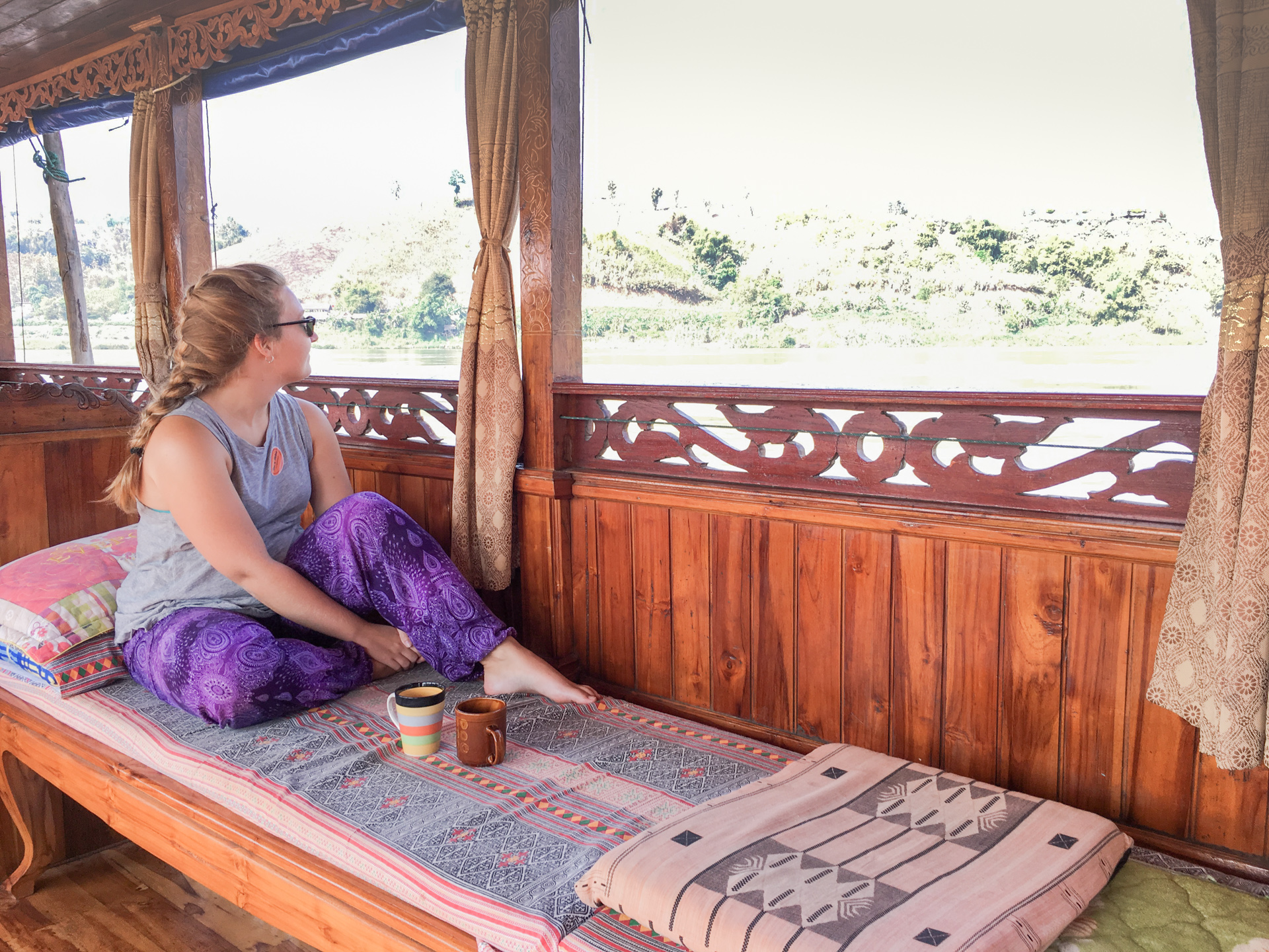 Alis on Mekong River Cruise boat