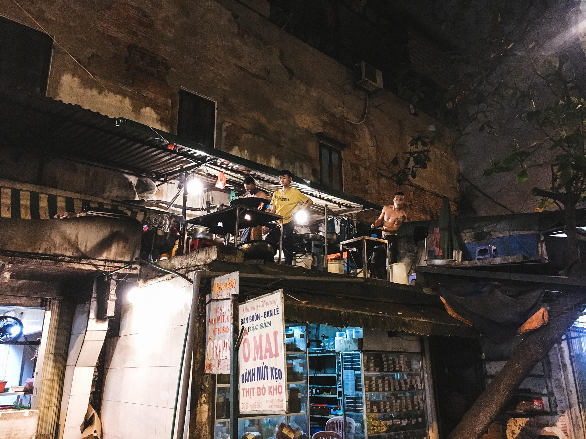 Street Food Cookers in Hanoi