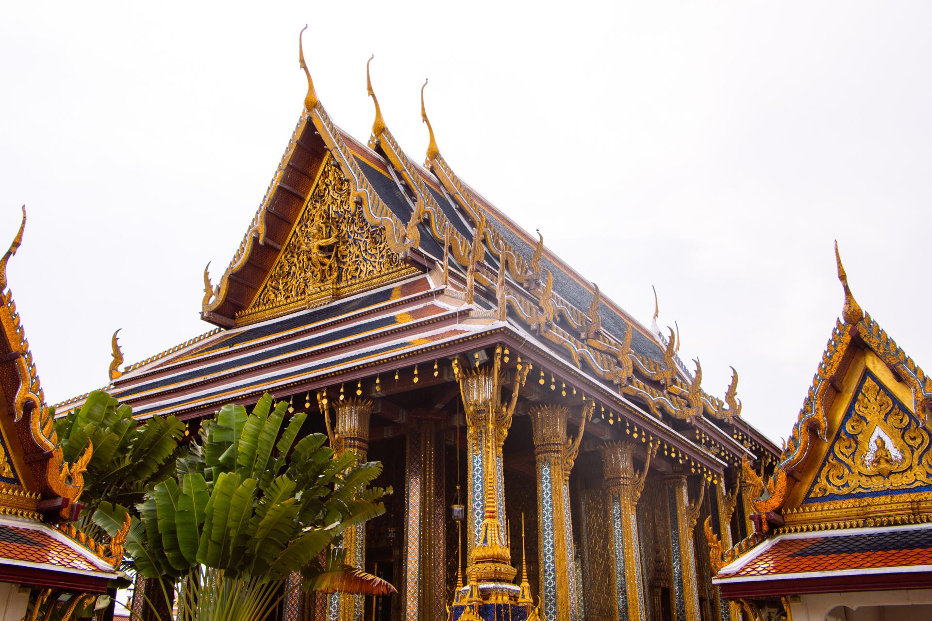 Lavish temples in Bangkok Thailand
