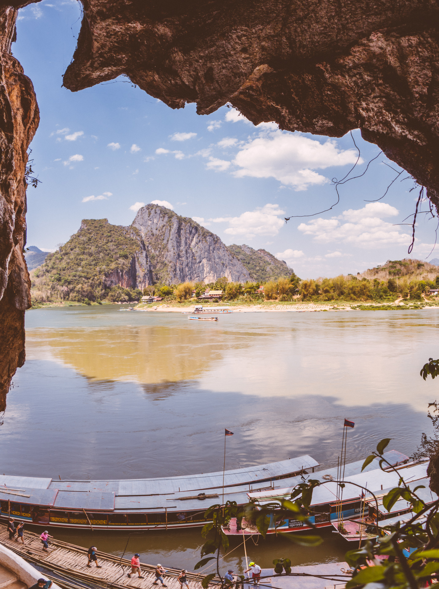 Pak Ou Caves Mekong River Hole