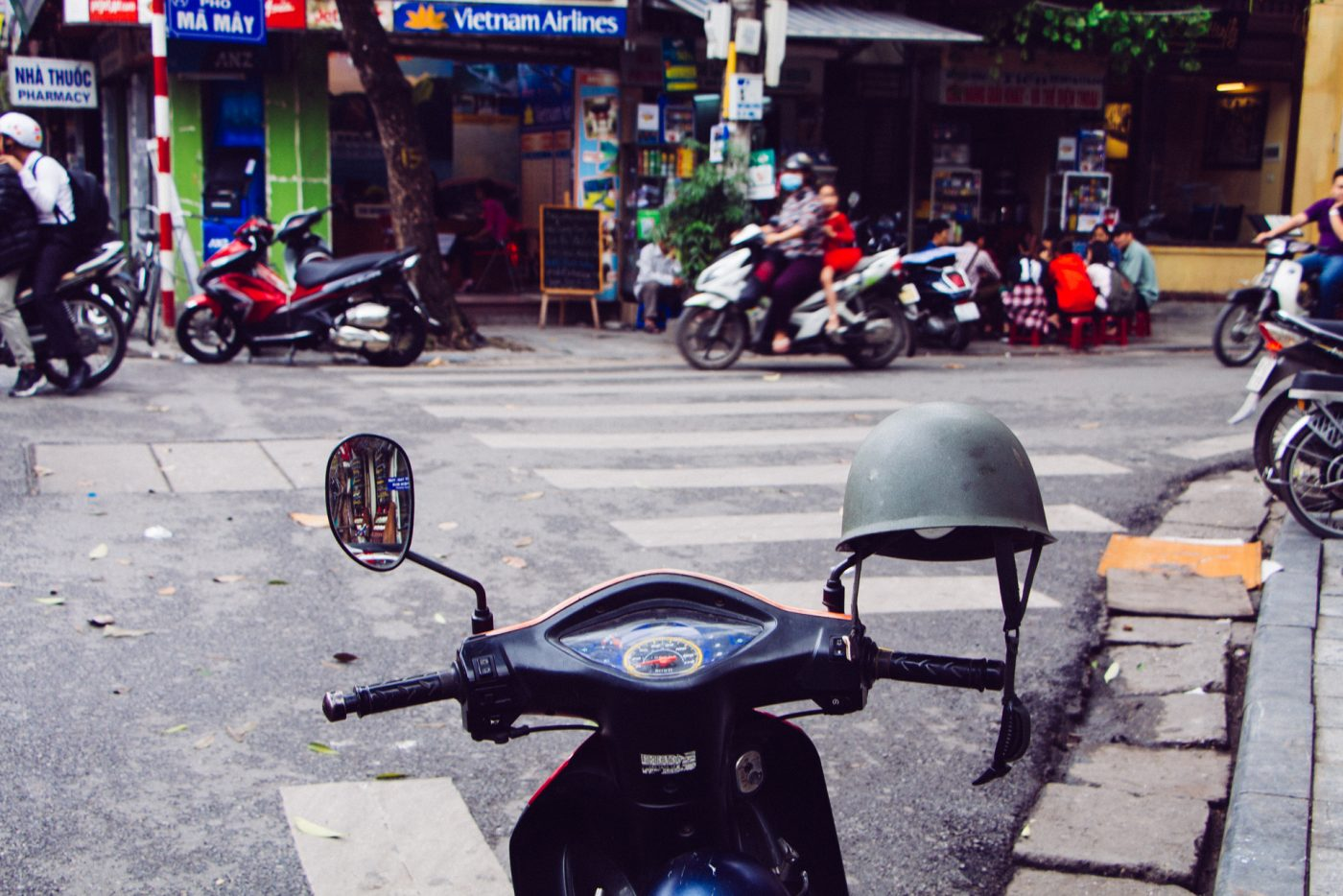 Bike in Hanoi