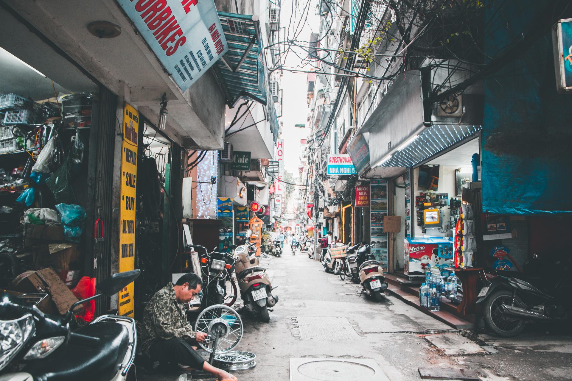 Hanoi Backstreet