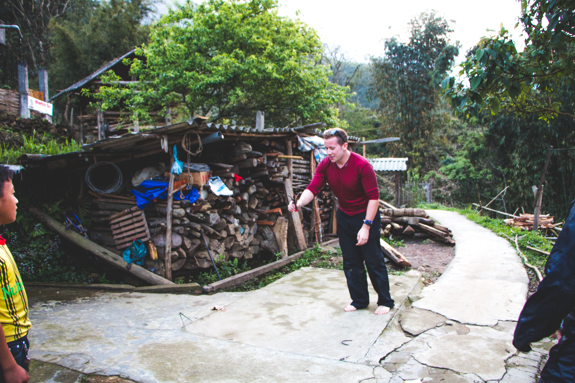 Da Cau game in Sapa, Vietnam