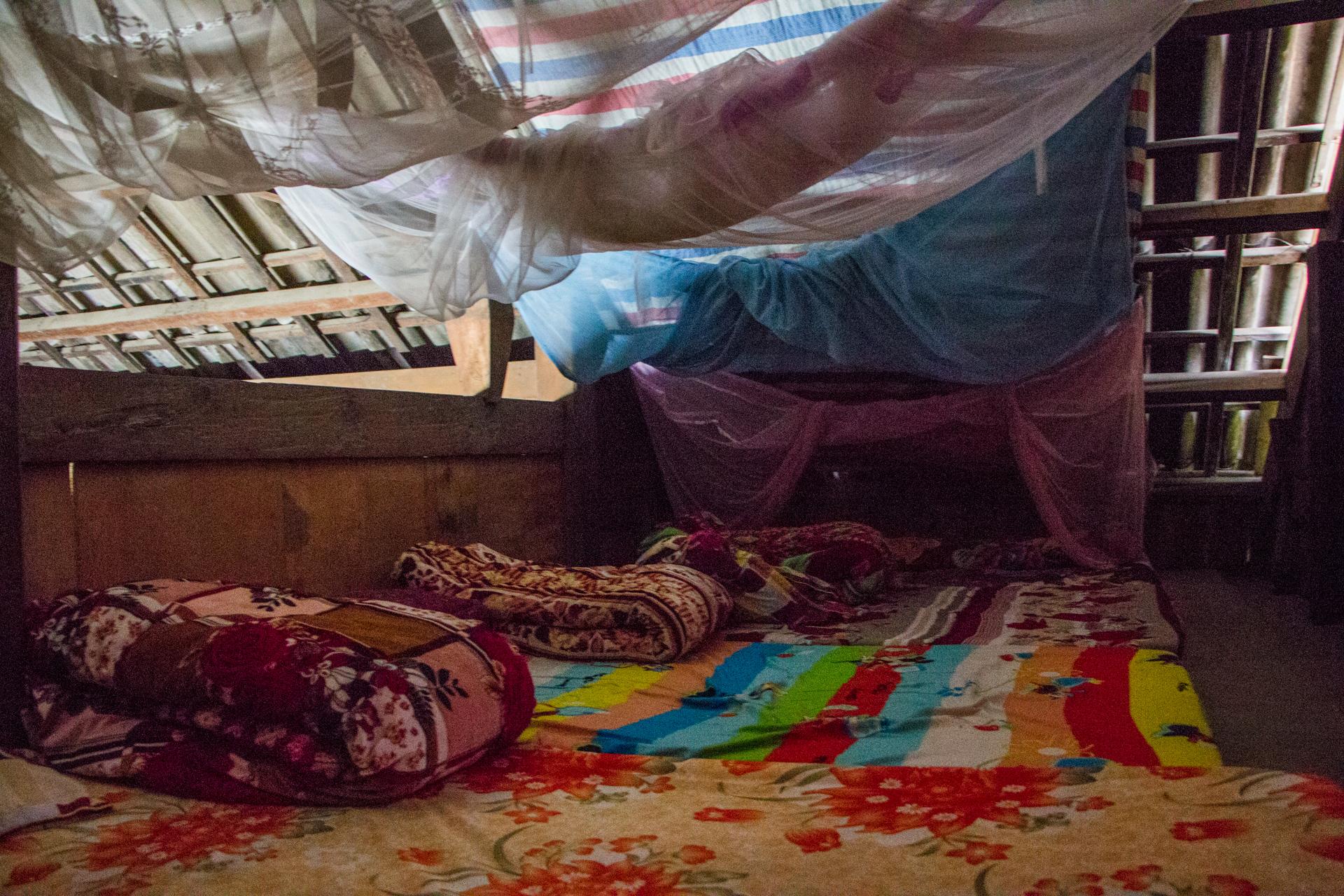 Sapa Homestay sleeping conditions