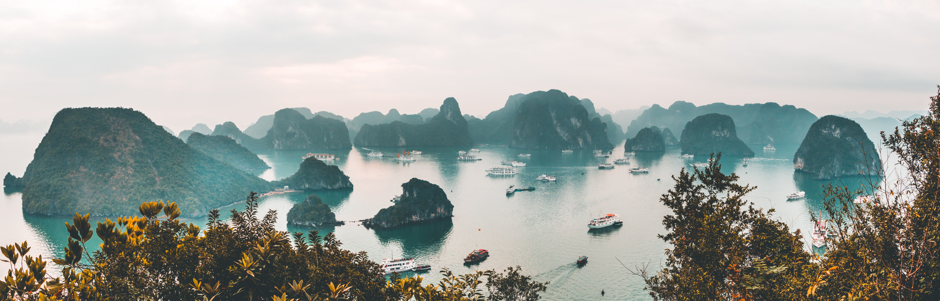 Ha Long Bay Panoramic View